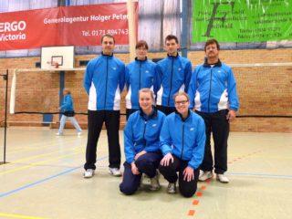 121209 BSV3 Einheit Greifswald Badminton-Mannschaft