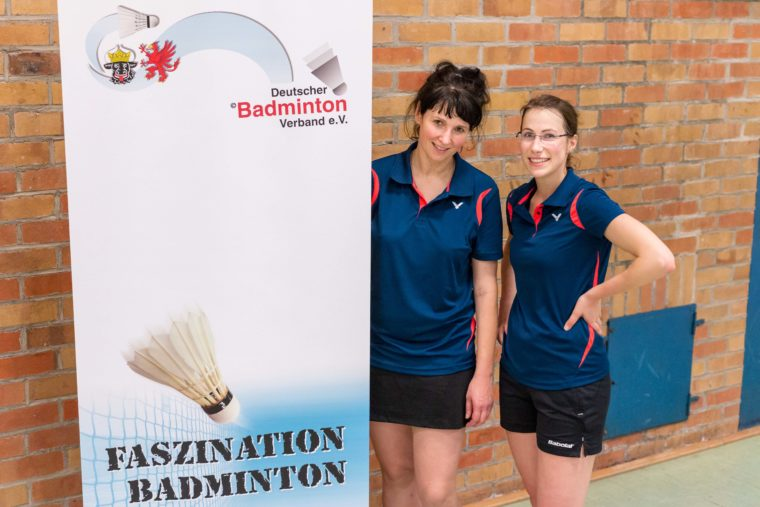Katja Michalowsky, Luise Kunzmann, LEM Badminton Mecklenburg Vorpommern